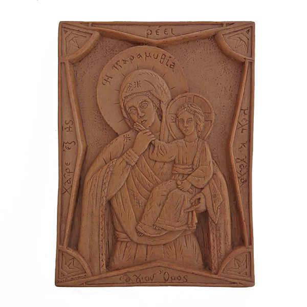 Παναγία Παραμυθία (κέρινη εικόνα)