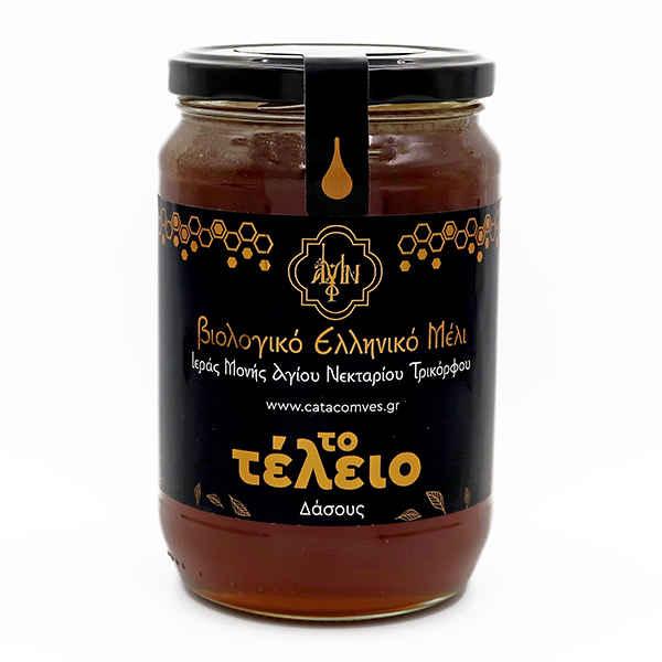 Βιολογικό ελληνικό μέλι δάσους 950γρ.