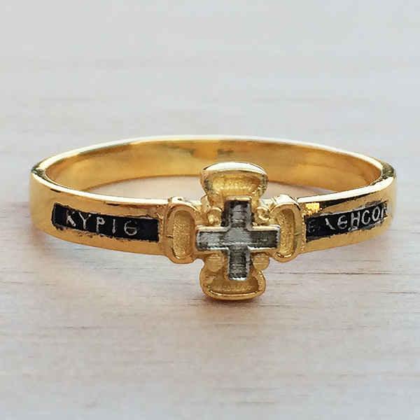 Ασημένιο - επιχρυσωμένο δακτυλίδι